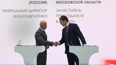 Вячеслав Духин подписал семь соглашений в рамках ПМЭФ 2021