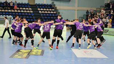 Вторая финальная игра чемпионата России по гандболу прошла в Подмосковье