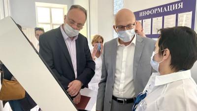 Замминистра здравоохранения региона посетил Центр амбулаторной онкологической помощи в Люберцах
