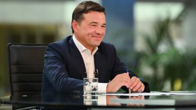 Андрей Воробьев ответил на вопросы жителей во время прямой линии на телеканале «360»