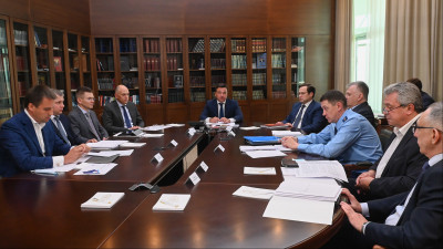 Андрей Воробьев провел оперативное совещание с руководителями правоохранительных органов