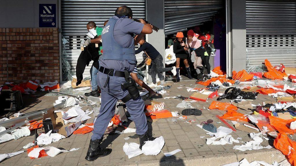беспорядки в юар фарс оппозиции на фоне трагедии