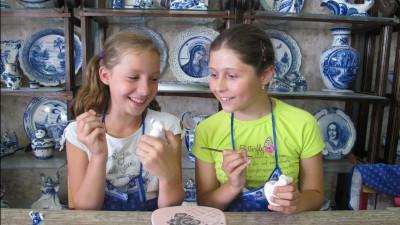 Более 40 тыс. детей посетили предприятия народных промыслов Подмосковья с начала года