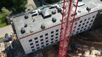 Реконструкция поликлиники в Одинцове