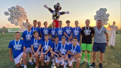 Футбольная команда из Дубны стала бронзовым призером всероссийского турнира «Кожаный мяч»
