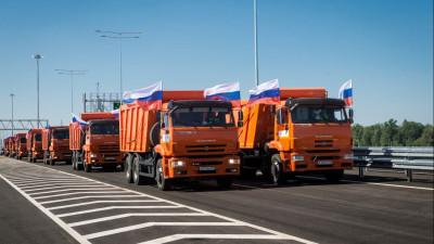 Владимир Путин, Андрей Воробьев и Марат Хуснуллин открыли движение в полном объеме на ЦКАД