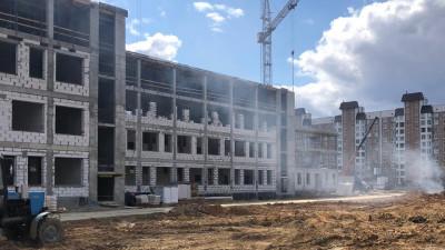 Строительство школы в Электростали