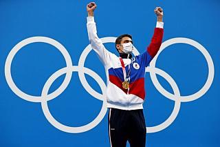 Игры XXXII Олимпиады в Токио: Евгений Рылов установил новый олимпийский рекорд и выиграл первое в истории России «золото» на дистанции 200 м на спине