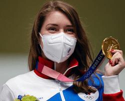 Игры XXXII Олимпиады в Токио: первую золотую медаль для российской команды принесла Виталина Бацарашкина в пулевой стрельбе