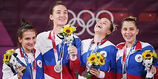 Игры XXXII Олимпиады в Токио: Россиянки выиграли «серебро» в первом олимпийском турнире по баскетболу 3х3