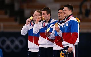 Игры XXXII Олимпиады в Токио: Российские гимнасты – чемпионы в командном многоборье