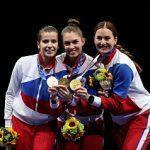 Игры XXXII Олимпиады в Токио: Российские саблистки защитили титул олимпийских чемпионок