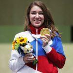 Игры XXXII Олимпиады в Токио: Виталина Бацарашкина выиграла первое в истории России «золото» в стрельбе из пистолета с 25 метров