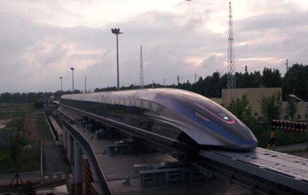 Китайцы создали быстрейший в мире поезд