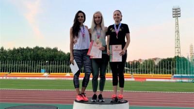 Легкоатлеты из Подмосковья завоевали 8 медалей на чемпионате России
