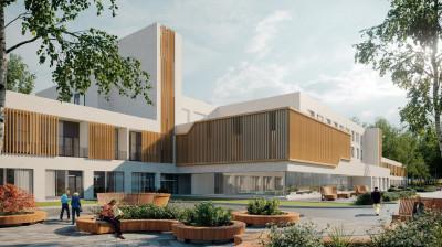 Мособлархитектура согласовала концепцию Дома ветеранов в Королеве