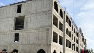 Начался монтаж крыши Физтех-лицея имени П.Л. Капицы в Долгопрудном