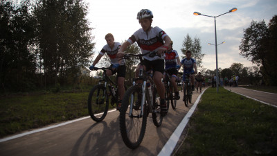 Наиболее протяженные велодорожки назвали в Подмосковье