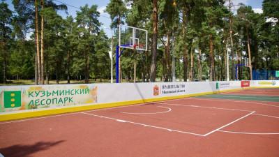 Новую спортивную площадку открыли в Котельниках