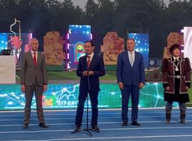 Олег Матыцин принял участие в церемонии открытия XXI Спартакиады по национальным видам спорта «Игры Манчаары»