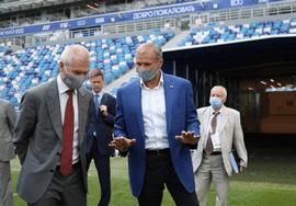 Олег Матыцин принял участие в открытии Чемпионата Европы по современному пятиборью в Нижнем Новгороде