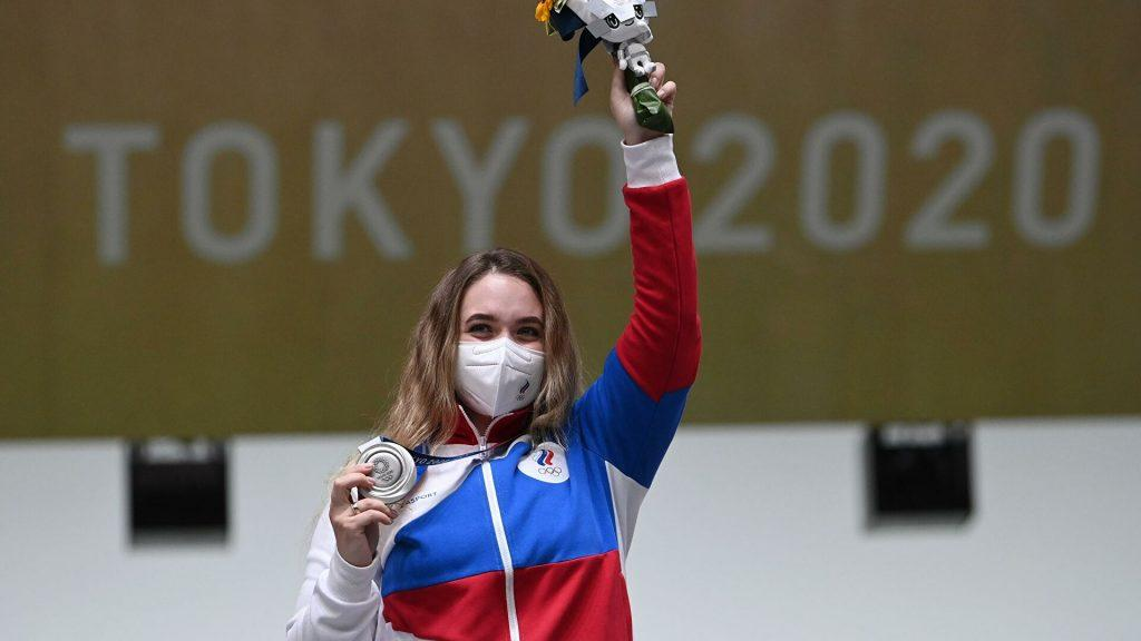 олимпиада 2020 есть первая медаль россии