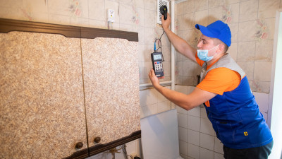 Почти 600 заявок жителей Подмосковья на обслуживание газового оборудования поступило в ЕДС