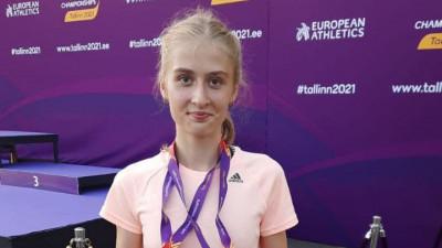 Подмосковная легкоатлетка заняла 3 место на первенстве Европы