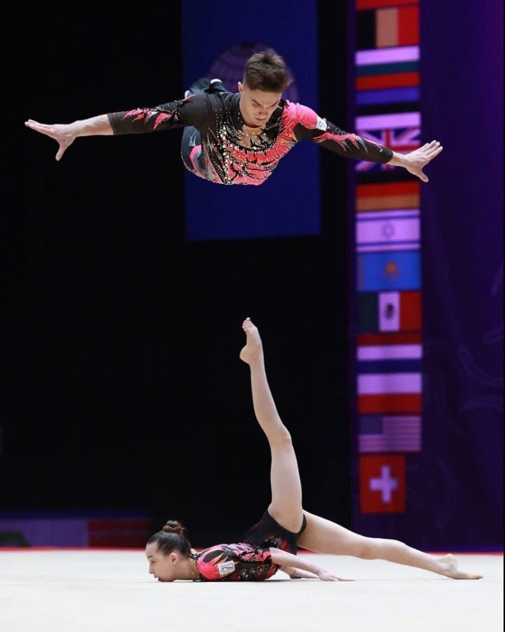 Подмосковные акробаты стали лучшими на чемпионате мира в Женеве