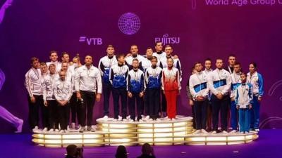 Подмосковные акробаты стали лучшими на чемпионате мира
