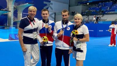 Подмосковные спортсмены завоевали бронзовые медали Олимпиады в синхронных прыжках