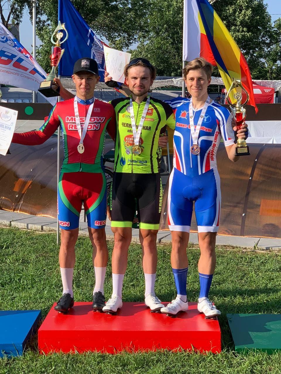 Подмосковный юниор стал призером летней Спартакиады молодежи по велоспорту