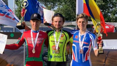 Подмосковный спортсмен стал призером летней Спартакиады молодежи по велоспорту