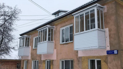 Полную замену балконных плит провели в 17 домах Подмосковья
