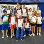 Рапиристки из Подмосковья взяли золото на V Спартакиаде молодёжи России