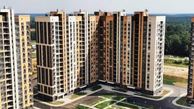 Семь жилых домов построили в Ленинском округе