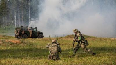 Спецназ Росгвардии провел тренировку в рамках учений «Заслон - 2021» в Подмосковье