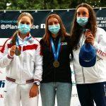 Спортсмены из Подмосковья завоевали полный комплект медалей на первенстве мира по гребному слалому