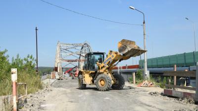 Строители приступили к демонтажу старого Афанасьевского моста в Воскресенске