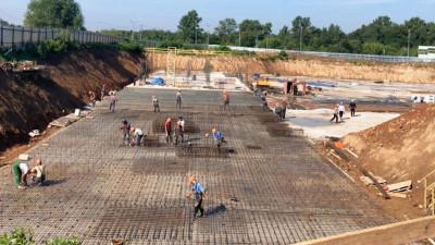 Строители приступили к возведению надземной части детского технопарка Физтех-лицея в Долгопрудном