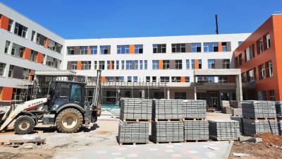 Строительство образовательного центра в Подольске вывели на завершающий этап