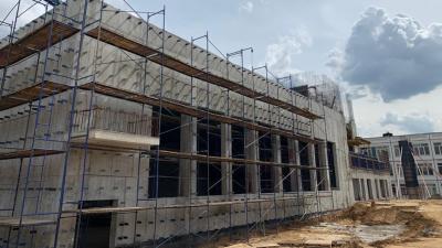 Строительство пристройки к школе № 59 в городском округе Люберцы завершат в конце года