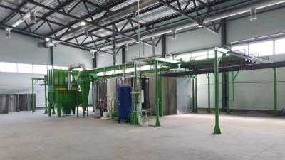 Строительство производства по покраске алюминиевого профиля завершили в Электростали