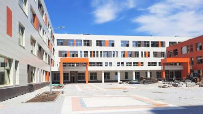 Строительство школы завершается в микрорайоне Кутузово Подольска