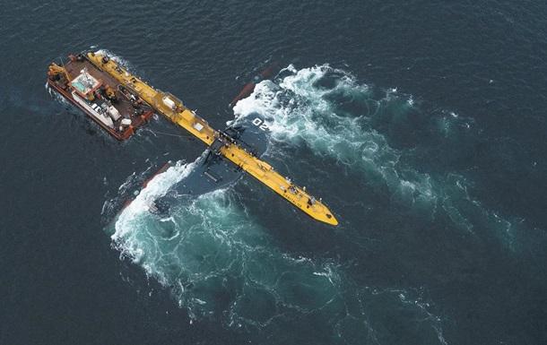 У берегов Британии запустили самую мощную приливную турбину