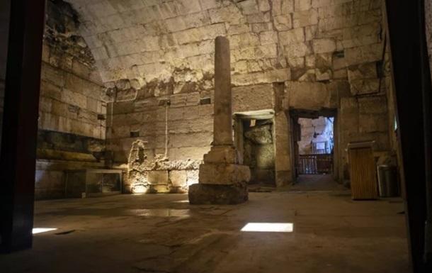 В Израиле под Стеной Плача обнаружена столовая для римской знати