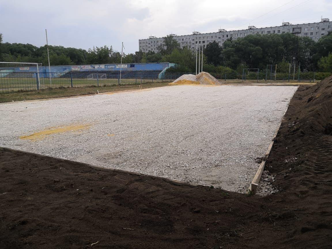 В Котельниках началось обустройство первого в городе скейт-парка