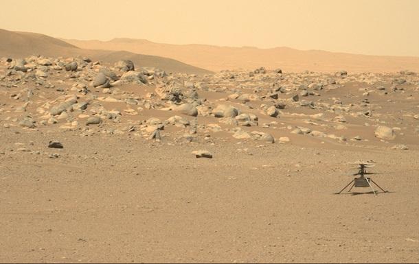 Вертолет NASA установил новые рекорды на Марсе