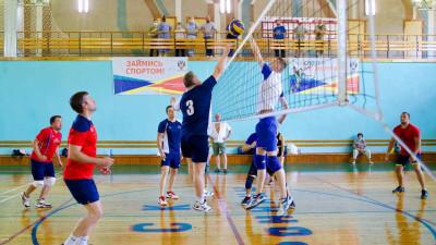 Волейбольный турнир стартовал в Бронницах