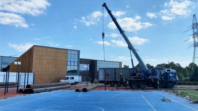 Возведение нового учебного корпуса гимназии стартовало в Одинцовском городском округе